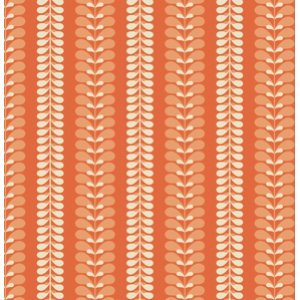 Jenean Morrison In My Room Fabric - Shade Tree - Orange