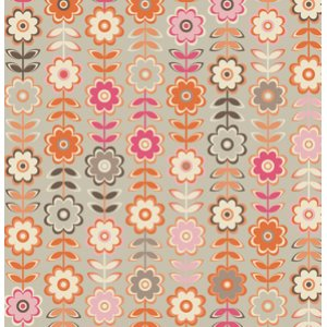 Jenean Morrison In My Room Fabric - Retreat - Tan