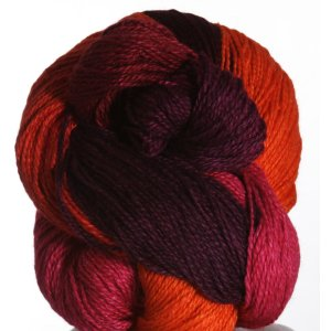 Jade Sapphire Silk/Cashmere 2-ply Yarn - '12 Holiday Collection - Cranberry Orange