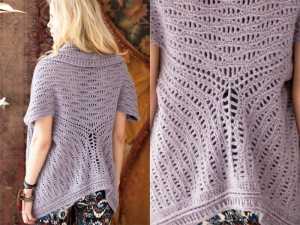 Berroco Flicker Cardi Shawl Kit - Crochet for Adults