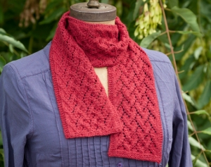 Classic Elite Silky Alpaca Lace Clinging to You Scarf Kit - Scarf and Shawls