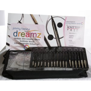 Knitter's Pride Dreamz Interchangeable Deluxe Needle Set Needles - '12 Holiday Collection Set Needles