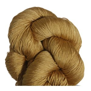 Fyberspates Pure Silk 4ply Yarn - Gold