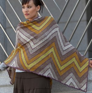 Isager Wool 1 Horizon Kit - Scarf and Shawls