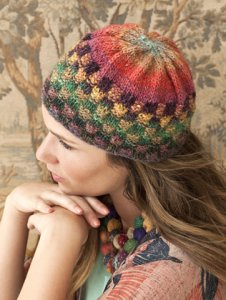 Noro Silk Garden Checkerboard Cap Kit - Hats and Gloves