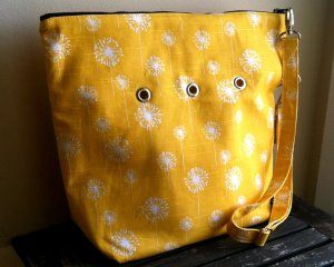 Top Shelf Totes Yarn Pop - Single - Yellow Dandelions - Totable