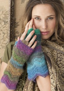 Noro Shiraito Wristers Kit - Hats and Gloves
