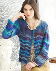 Noro Taiyo Sock Lace Cardigan Kit - Women's Cardigans