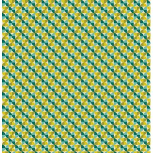 Joel Dewberry Notting Hill Fabric - Hourglass - Aquamarine