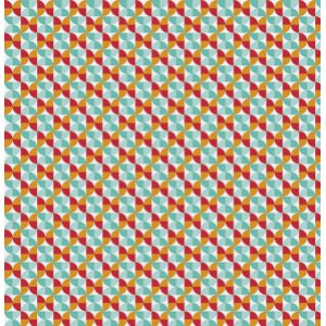 Joel Dewberry Notting Hill Fabric - Hourglass - Poppy