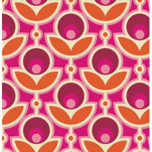 Joel Dewberry Notting Hill Fabric - Primrose - Magenta