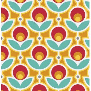 Joel Dewberry Notting Hill Fabric - Primrose - Poppy