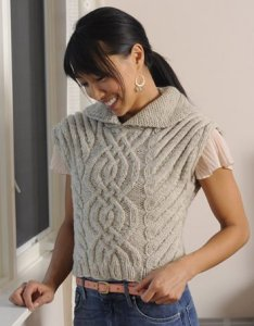 Cascade Eco Wool Reticulated Pullover Kit - Women's Pullovers