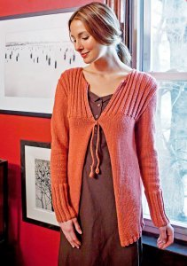 Berroco Weekend Mamere Sweater Kit - Women's Cardigans