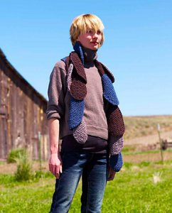 Imperial Yarn Native Twist Truffle Scarf Kit - Scarf and Shawls