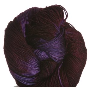 Malabrigo Lace Superwash Yarn - 204 Velvet Grapes