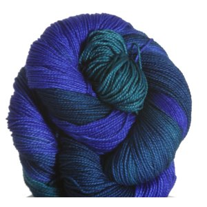 Malabrigo Lace Superwash Yarn - 137 Emerald Blue