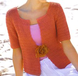 Tahki Cotton Classic Double Seed Stitch Cardigan Kit - Women's Cardigans