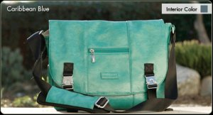 Namaste Mini Messenger - Caribbean Blue