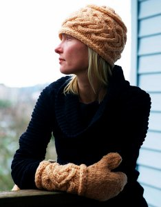 Imperial Yarn Bulky 2-Strand Moonshine Hat and Mitten Set Kit - Hats and Gloves