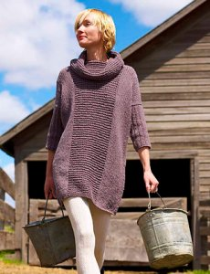 Imperial Yarn Columbia 2-Ply Essential Sweater Dress Kit - Women's Pullovers