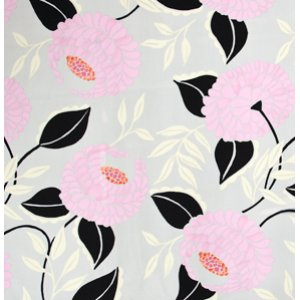 Dena Designs McKenzie Fabric - Bloom - Black