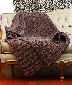 Imperial Yarn Bulky 2-Strand Heirloom Throw Kit - Home Accessories