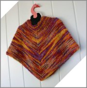 Knitting at Knoon Patterns - Nina Poncho Pattern