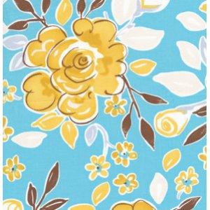 Dena Designs Tea Garden Fabric - Darjeeling - Blue