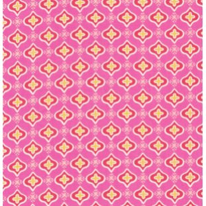 Dena Designs Tea Garden Fabric - Sencha - Fuchsia