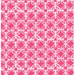 Dena Designs Tea Garden Fabric - Oolong - Fuchsia