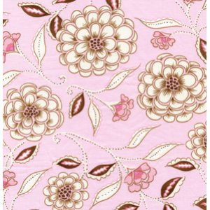 Dena Designs Leanika Fabric - Rose - Pink