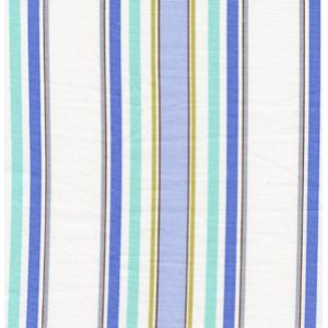 Dena Designs Leanika Fabric - Stripe - Blue