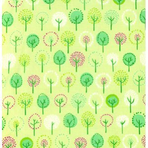 Erin McMorris Wildwood Fabric - Forest - Green
