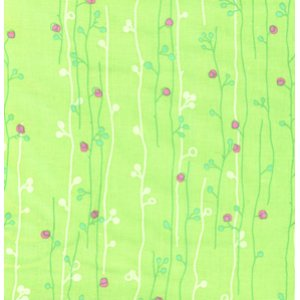 Erin McMorris Wildwood Fabric - Sprout - Green