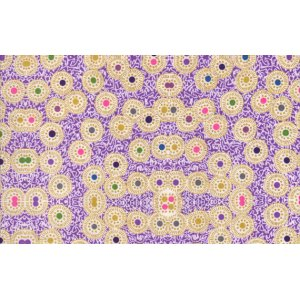 Dan Bennett Premier Lord Fabric - Daisy - Purple