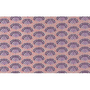Dan Bennett Premier Lord Fabric - Fan - Purple