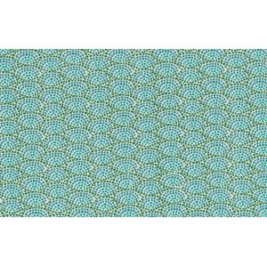 Dan Bennett Premier Lord Fabric - Fan - Teal