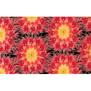 Dan Bennett Premier Lord Fabric - Pom - Red
