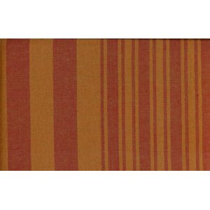 Kaffe Fassett Wovens Fabric - Two Tone Stripe - Pumpkin