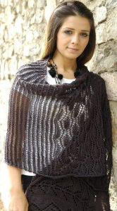 Fibra Natura Flax Jocelyn Shawl Kit - Scarf and Shawls