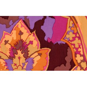 Kaffe Fassett Gothic Fabric - Brown