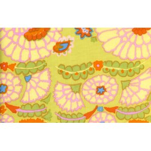 Kaffe Fassett Henna Fabric - Yellow