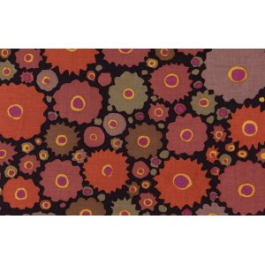 Kaffe Fassett Cogs Fabric - Brown