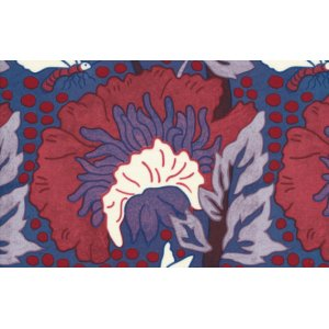 Melissa White Fairlyte Garden Fabric - Medusa Tree - Rich