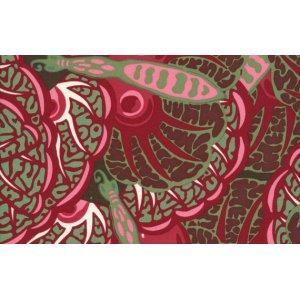 Melissa White Fairlyte Garden Fabric - Fritillary Wings - Rich