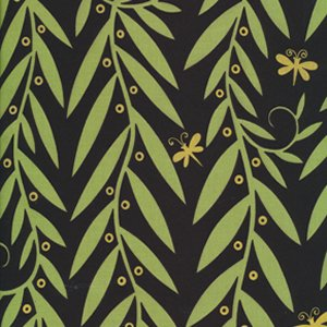 Jane Sassaman Garden Divas Fabric - Willow Wands - Exotic
