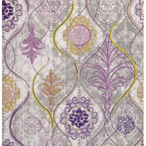 FreeSpirit Design Loft Chiffon Fabric - Sterling - Purple