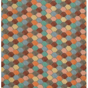 FreeSpirit Design Loft Chiffon Fabric - Loft - Orange
