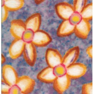 George Mendoza Colors of the Wind Fleece Fabric - Joyce Floral - Purple